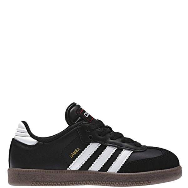 adidas Samba Classic J Black Youth Indoor Shoes - model 036516