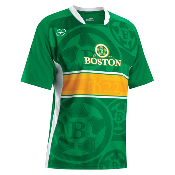 Xara City Series Boston Soccer Jersey - model 1063BOS