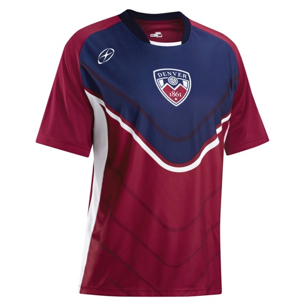 Xara City Series Denver Soccer Jersey - model 1063DEN