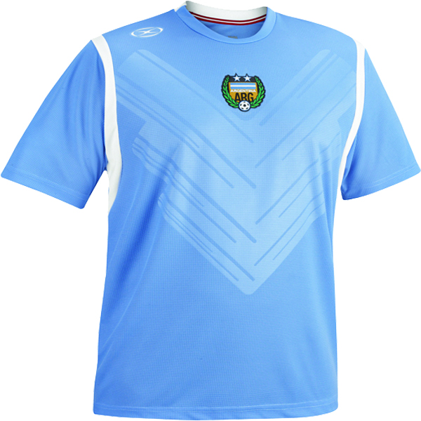 Xara Argentina International Soccer Jersey - model 1086ARG