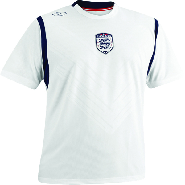 Xara England International Soccer Jersey - model 1086ENG