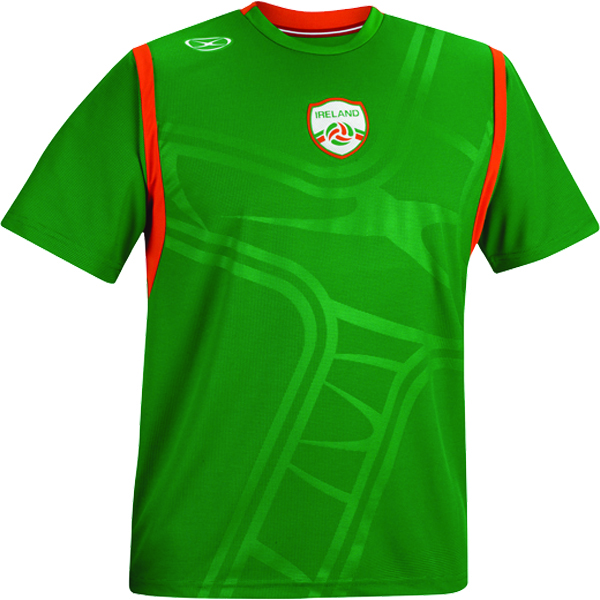 Xara Ireland International Soccer Jersey - model 1086IRE