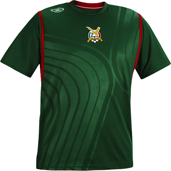 Xara Mexico International Soccer Jersey - model 1086MEX