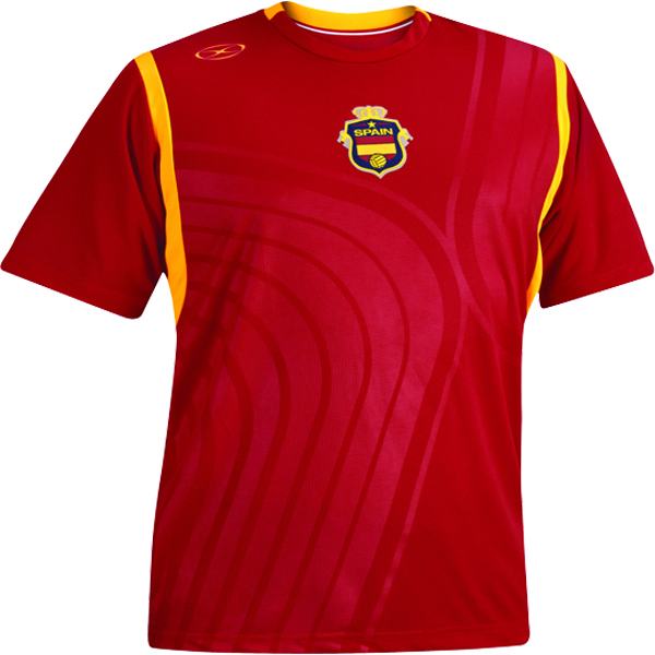 Xara Spain International Soccer Jersey - model 1086SPA