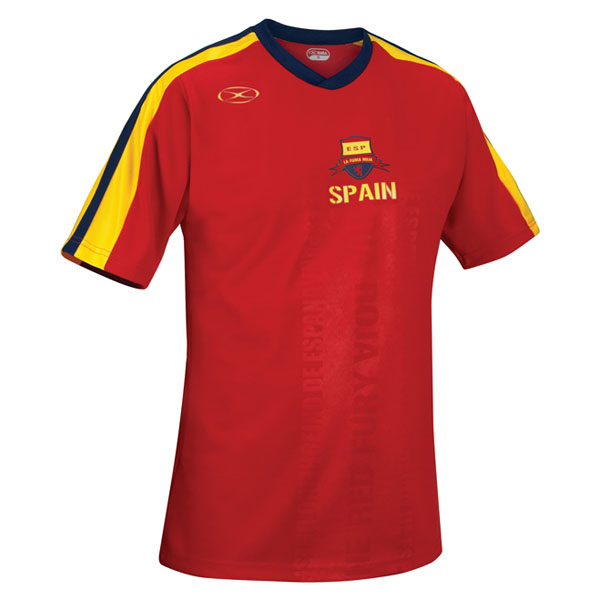 Xara Spain International II Jerseys - model 1094SPA