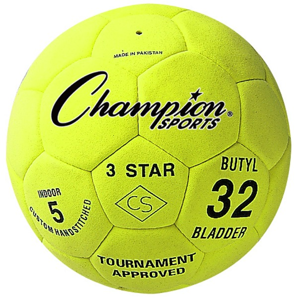 Three Star Indoor Soccer Ball - model 3STAR
