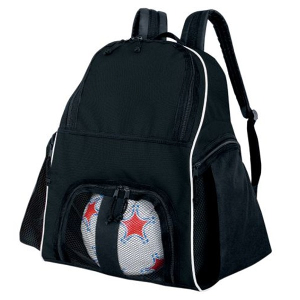 High Five Black Soccer Backpack - model 27850B