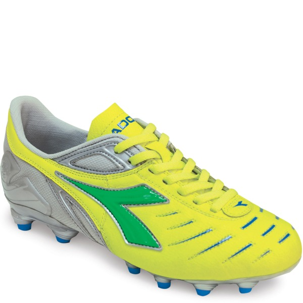 Diadora Maracana L W Neon/Lime/Royal Women's Soccer Cleats - model 713726-3210