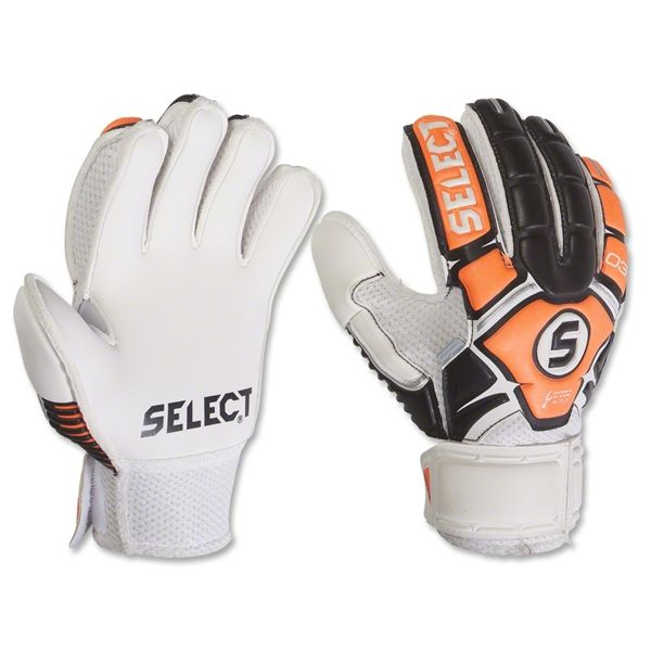 Select 03 Youth Guard Fingersaver Soccer Goalkeeper Gloves - model 60-203