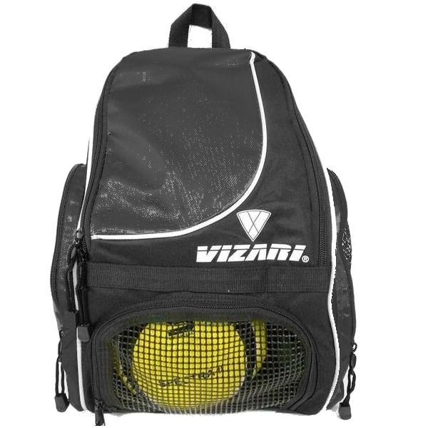 Vizari Solano Black Soccer Backpack - model 30141