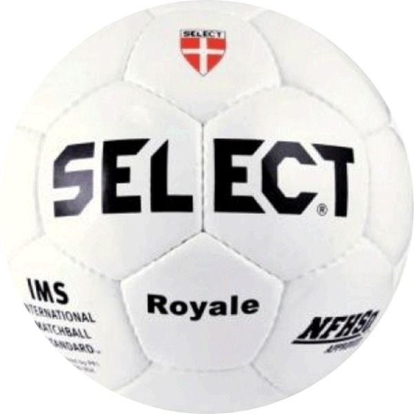 Select Royale White Soccer Ball - model 01-253