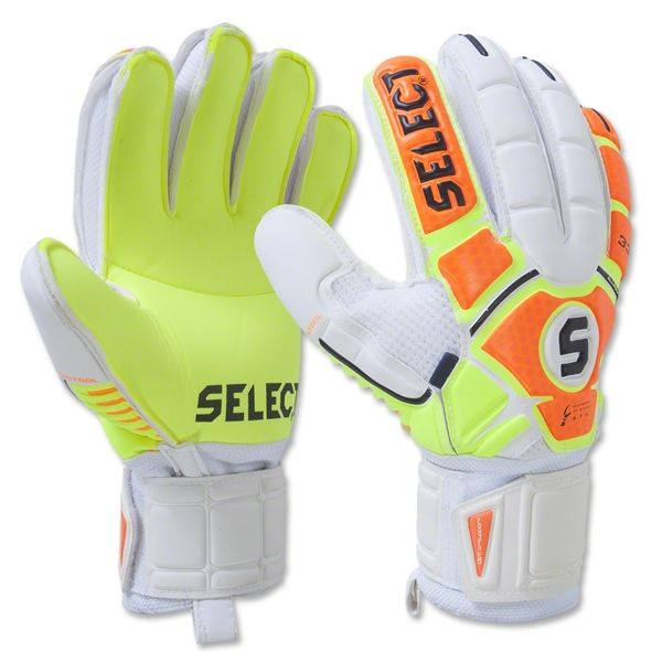 Select 33 All Round Fingersaver Soccer Goalkeeper Gloves - model 60-133