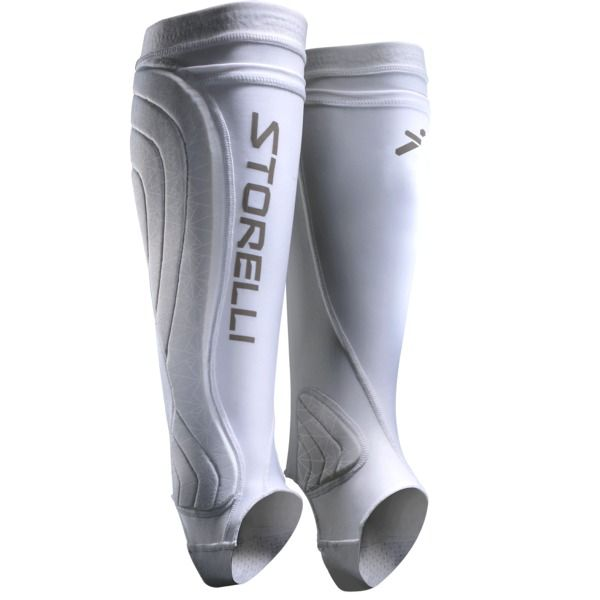 Storelli Bodyshield White Leg Guards - model BSLGUARDWH