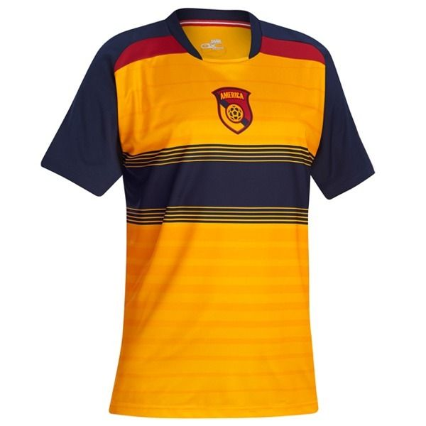 Xara Club America Champion Soccer Jersey - model 1025AME