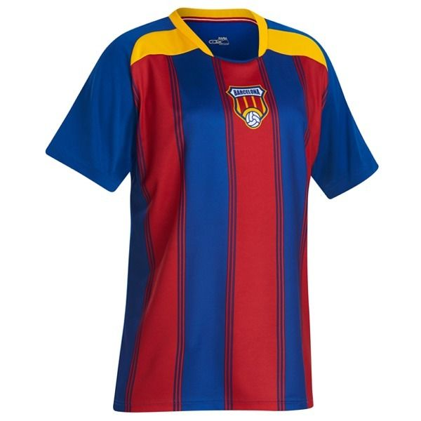 Xara Barcelona Champion Soccer Jersey - model 1025BAR