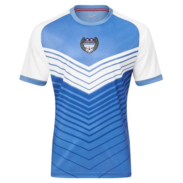 Xara Argentina International IV Soccer Jersey - model 1042ARG