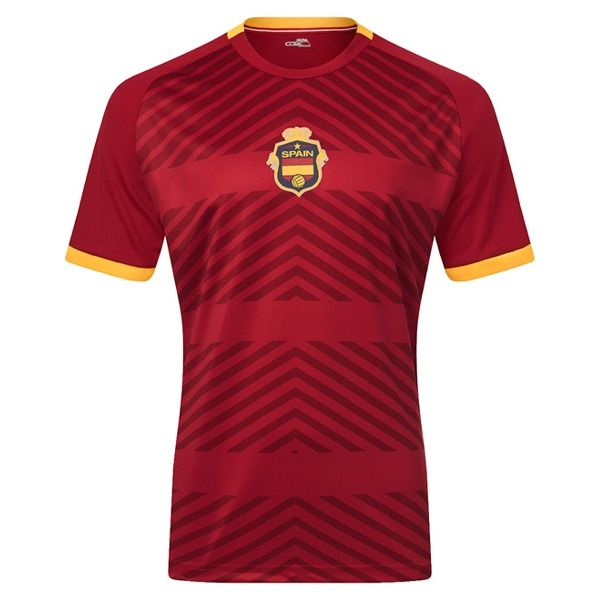 Xara Spain International IV Soccer Jersey - model 1042SPA