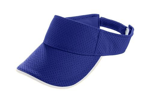 Athletic Mesh Two Color Visor - model 6223j