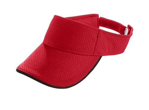 Athletic Mesh Two Color Visor - model 6223k