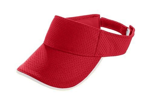 Athletic Mesh Two Color Visor - model 6223l