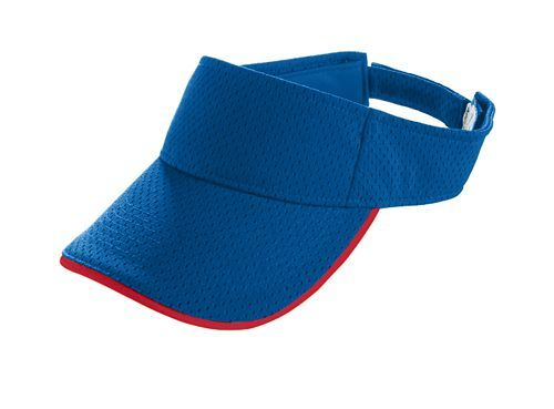 Athletic Mesh Two Color Visor - model 6223m