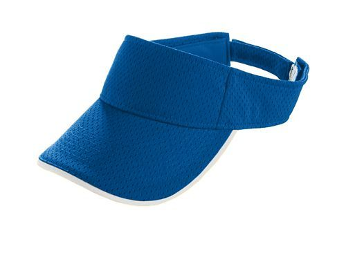 Athletic Mesh Two Color Visor - model 6223n