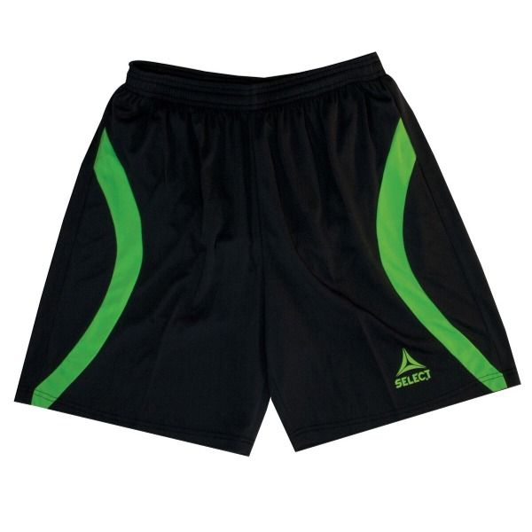 Select Florida Black/Green Goalkeeper Shorts - model 54-400-001