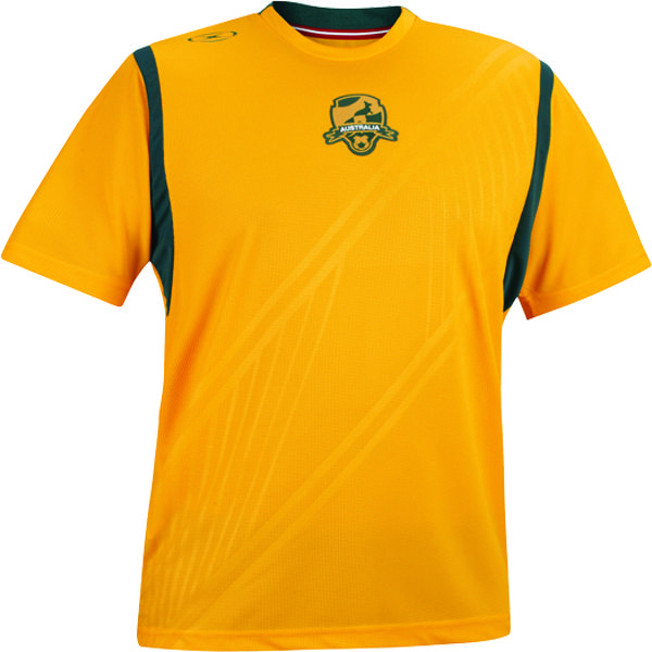 Xara Australia International Soccer Jersey - model 1086AUS