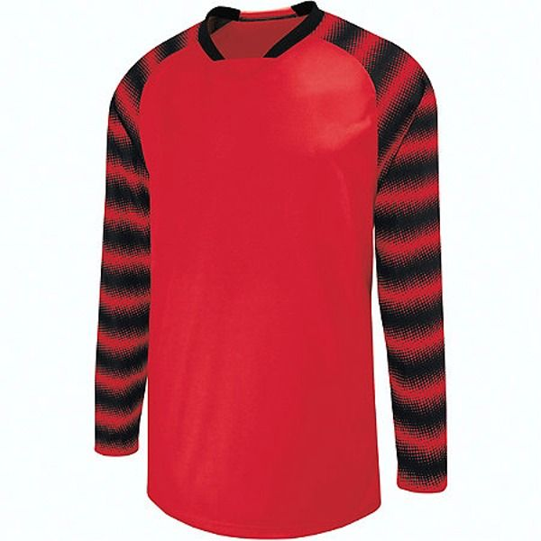 High Five Prism Scarlet/Black Goalkeeper Jersey - model 24360-SB