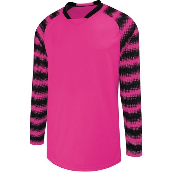 High Five Prism Raspberry Pink Goalkeeper Jersey - model 24360-P