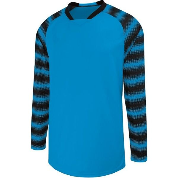 High Five Prism Power Blue/Black Goalkeeper Jersey - model 24360-B