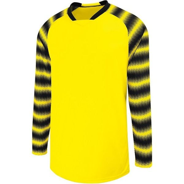 High Five Prism Power Yellow Goalkeeper Jersey - model 24360-Y