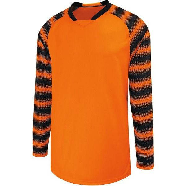 High Five Prism Orange Goalkeeper Jersey - model 24360