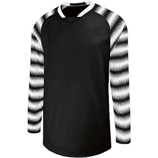 High Five Prism Black/White Goalkeeper Jersey - model 24360-BW