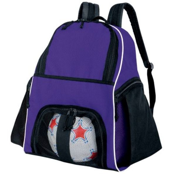 High Five Purple Soccer Backpack - model 27850P