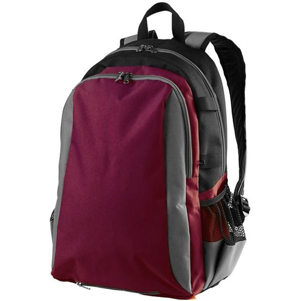 High Five Multi-Sport Maroon/Graphite Backpack - model 27890-MAR