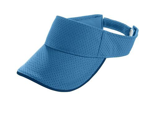 Athletic Mesh Two Color Visor - model 6223b