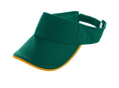 Athletic Mesh Two Color Visor - model 6223c