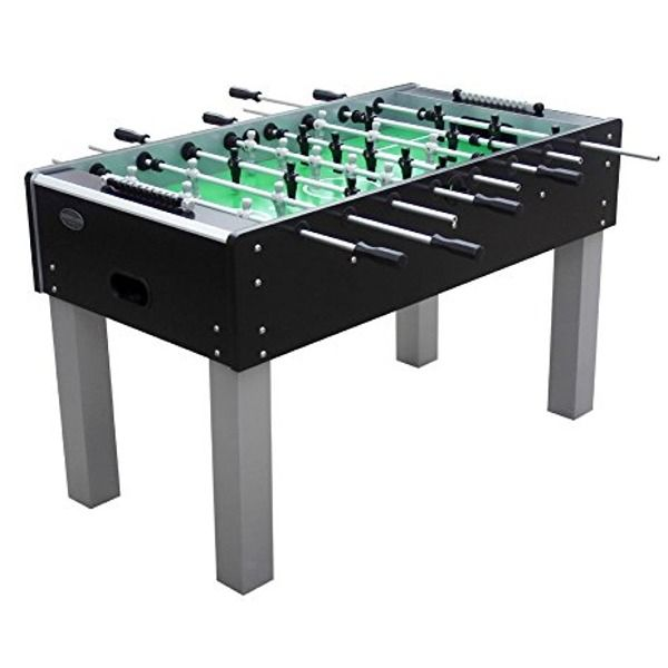 The Florida Outdoor Foosball Table in Black - model FLFoosBlk