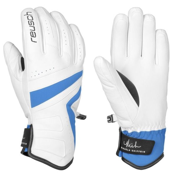 Reusch Mikaela Media Dry Ski Gloves - model 4531100