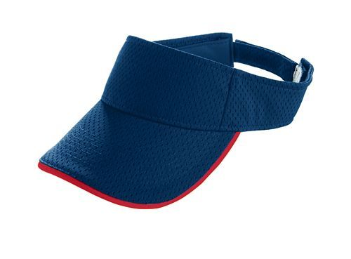 Athletic Mesh Two Color Visor - model 6223f