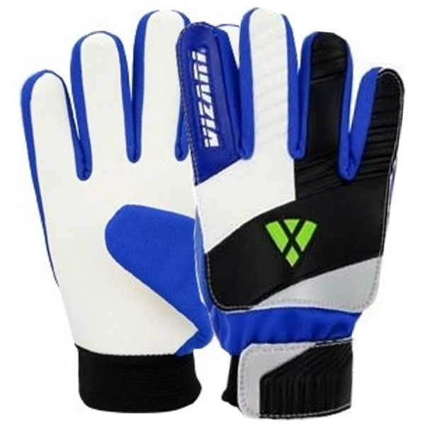 Vizari Junior Blue/White/Black Goalkeeper Gloves model 80003