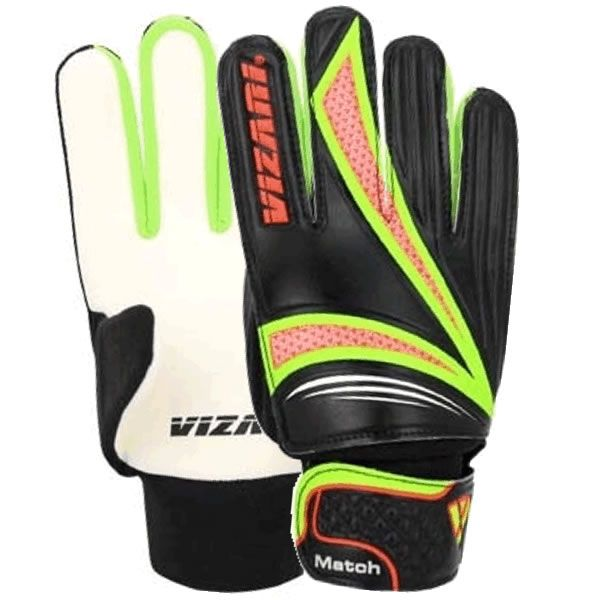 Vizari Junior Black/Neon Goalkeeper Gloves - model 80004