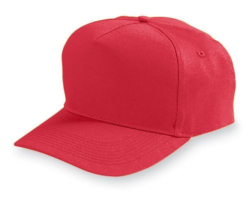 Five Panel Cotton Twill Cap - model 6202h