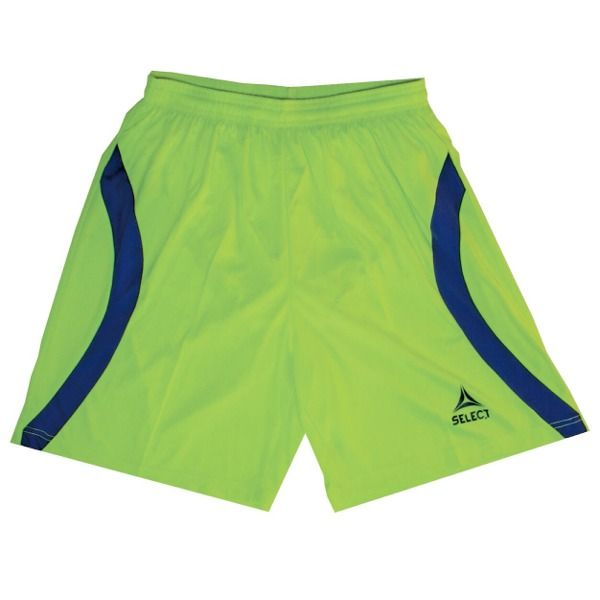 Select Texas Neon Green/Blue Goalkeeper Shorts - model 54-500-001