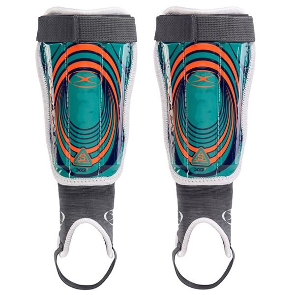 Xara XG1 v4 Teal Soccer Shinguard - model 9050T