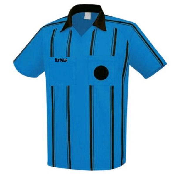 RefGear Blue Referee Jersey - model 910SB