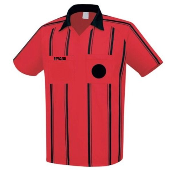 RefGear Red Referee Jersey - model 910SR