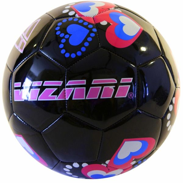 Vizari Retro Hearts Soccer Ball - model 91260