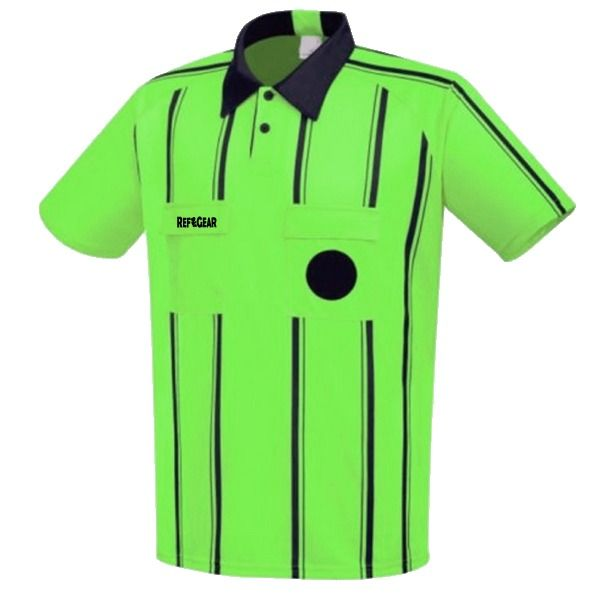 RefGear Pro Official Green Referee Jersey - model 923SG